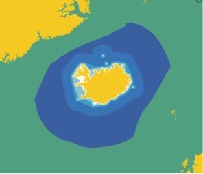 Utvidelser av fiskerigrensen ved Island 1952 - 1975