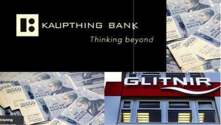 Bankkollapsen i 2008 - Kaupthing og Glitnir bank kollapset