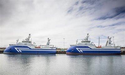 Nye, moderne og supereffektive trålere på Island