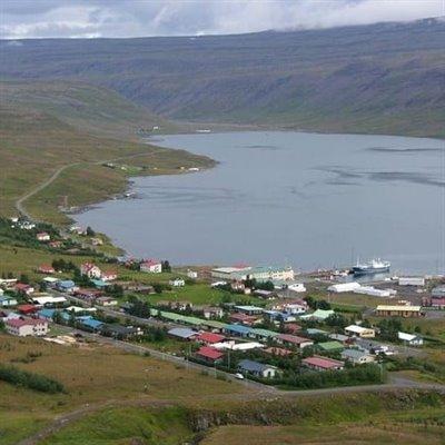 Tálknafjörður - et fiskevær på Vestfjordene